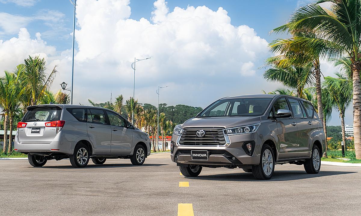 Toyota Innova 2020 ra mắt tại Việt Nam. Ảnh: TMV