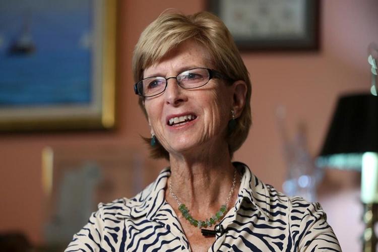 Cựu thống đốc bang New Jersey Christine Todd Whitman hồi năm 2016. Ảnh: AP.