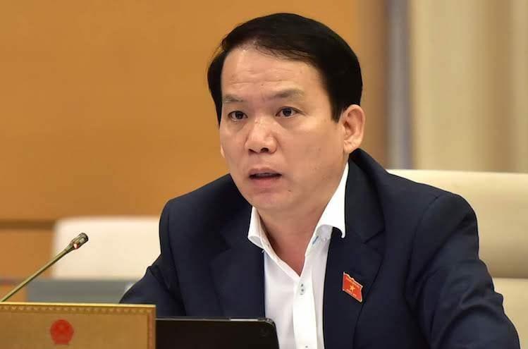 Chủ nhiệm Uỷ ban Pháp luật Hoàng Thanh Tùng. Ảnh: Trung tâm báo chí Quốc hội