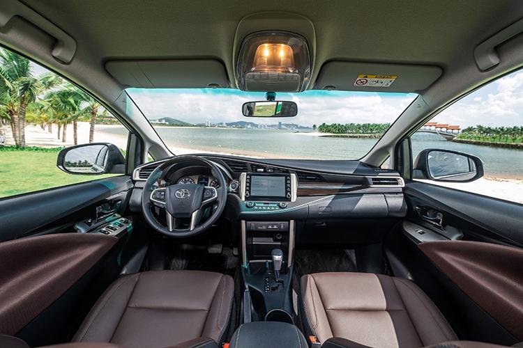 Innova interior upgraded version.