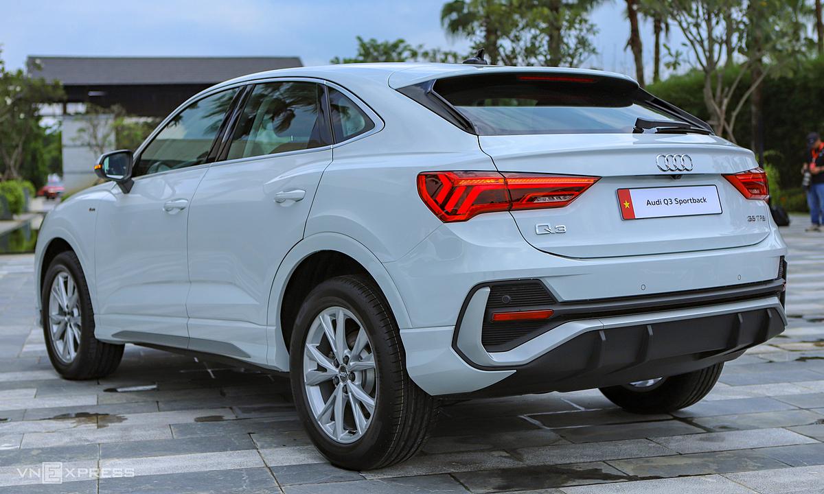 Audi Q3 Sportback chào thị trường Việt Nam. Ảnh: Lương Dũng