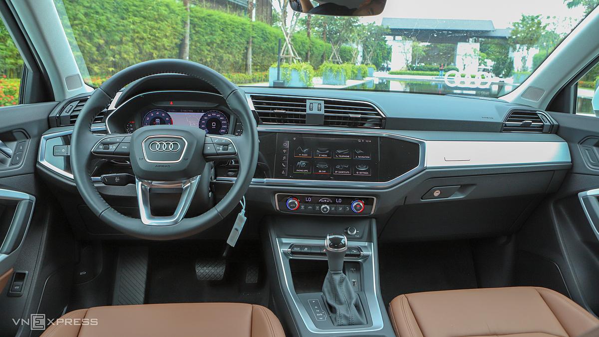 Thiết kế nội thất của Audi Q3 Sportback 2020. Ảnh: Lương Dũng