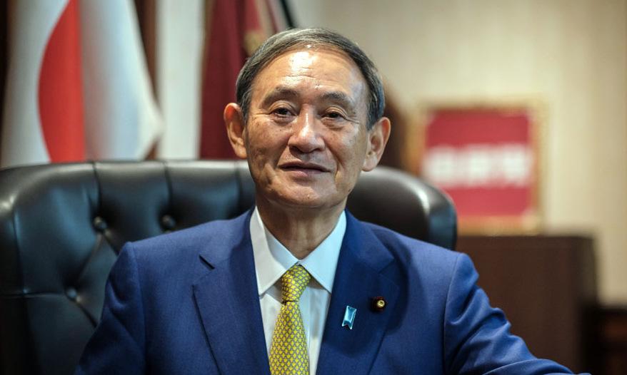 Thủ tướng Yoshihide Suga tại Tokyo hồi cuối tháng 9. Ảnh: AFP.