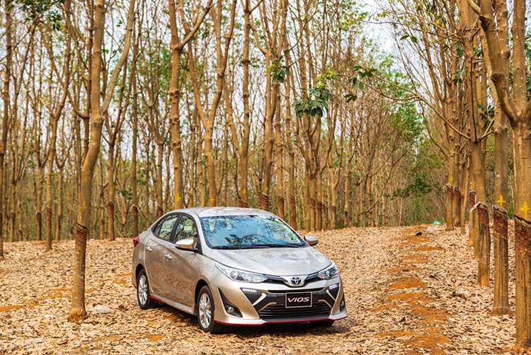 Toyota Vios phiên bản mới nhất. Ảnh: TMV.