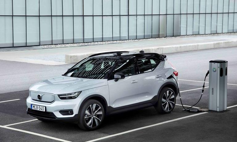 XC40 Recharge - xe điện đầu tiên của hãng ôtô Thụy Điển. Ảnh: Volvo