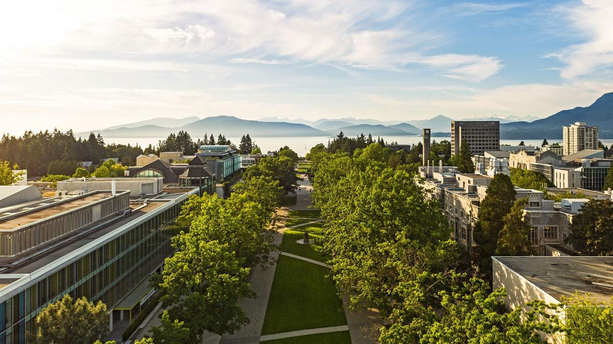 Khuôn viên University of British Columbia (UBC). Ảnh: UBC.