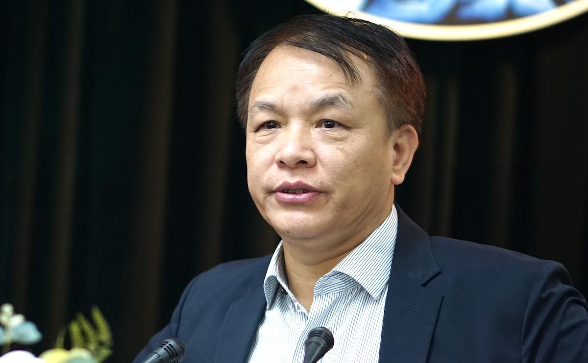 Ông Lê Quang Vĩnh, Trợ lý Thường trực Ban Bí thư. Ảnh: Hoàng Phong