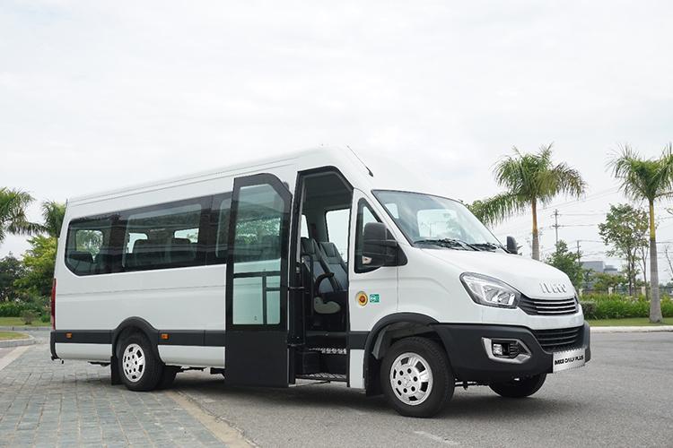 Xe Minibus Iveco tại nhà máy Thaco Bus. Ảnh: Thaco.