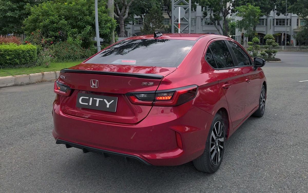 City mới có thêm bản RS. Ảnh: Honda