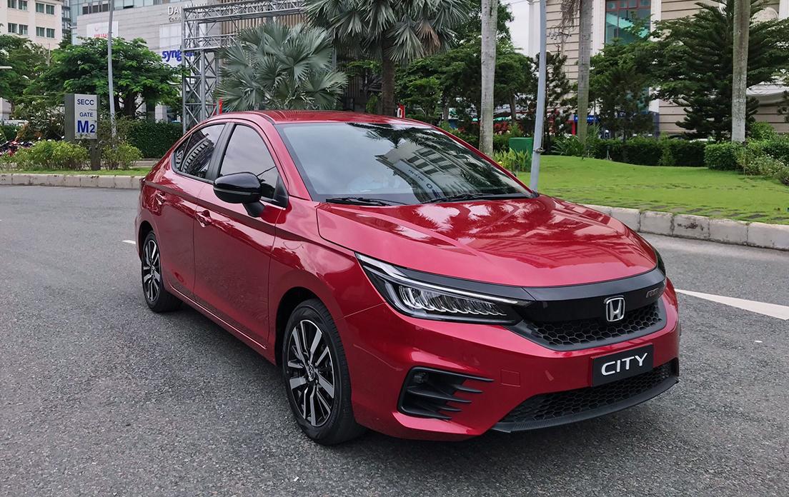 Honda City mới. Ảnh: Honda