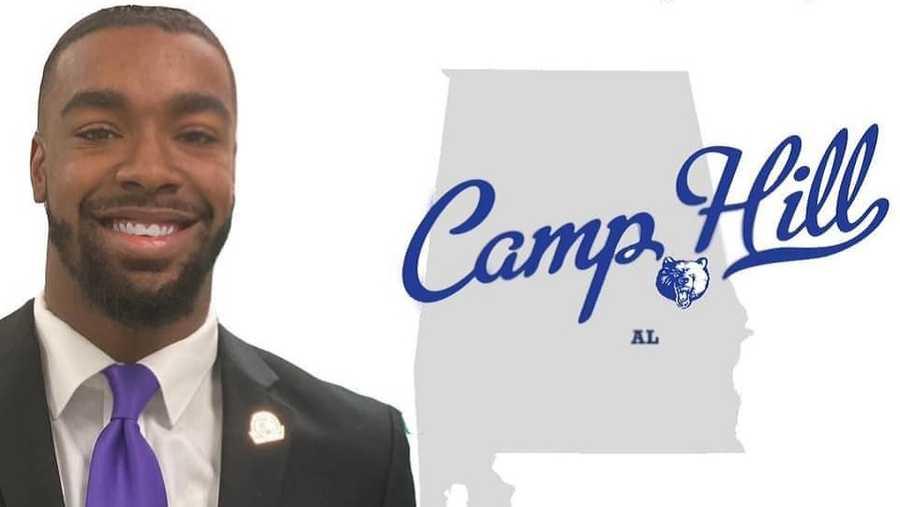 Messiah Williams-Cole, tân thị trưởng của thị trấn Camp Hill. Ảnh: Messiah Williams-Cole/Facebook