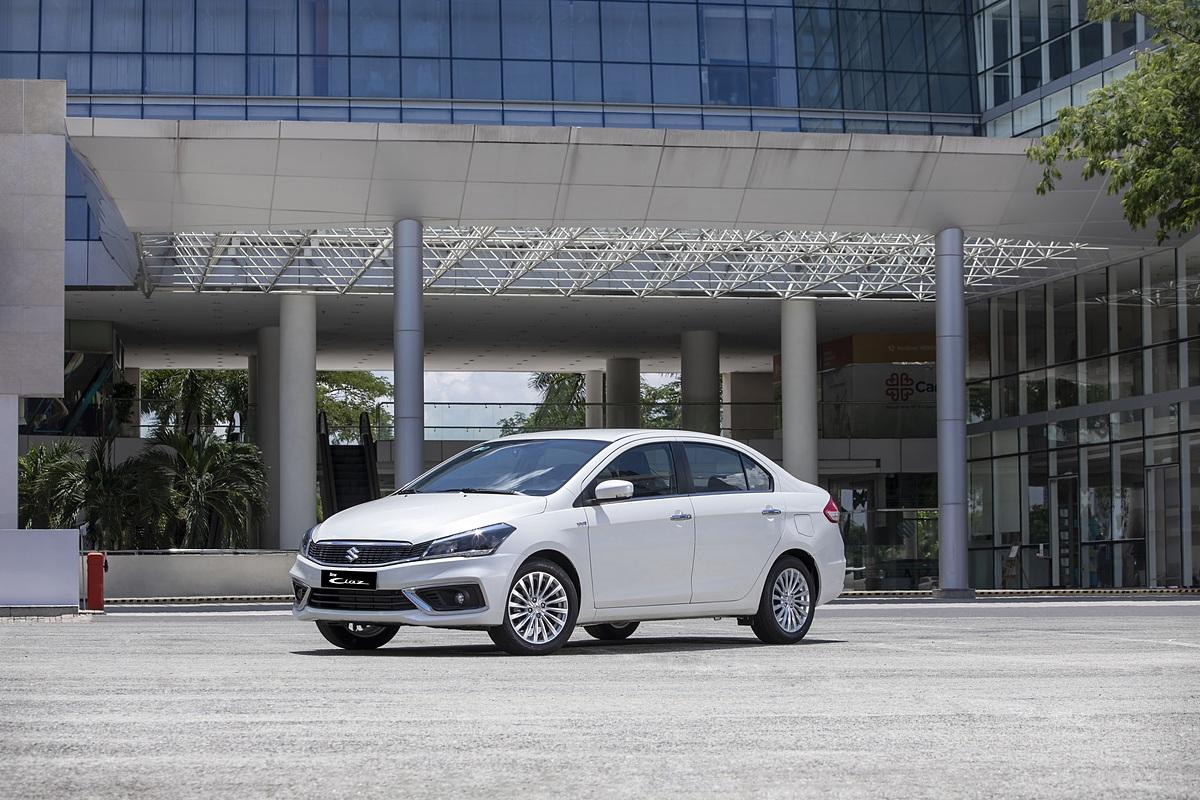 Ciaz mới - mẫu sedan hạng B vừa ra mắt cuối tháng 9. Ảnh: Việt Nam Suzuki.