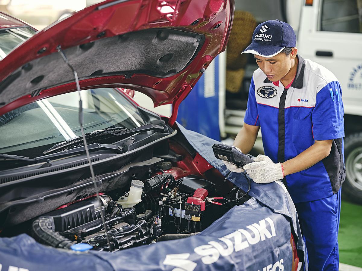 Suzuki hiện là một trong những thương hiệu có chi phí bảo dưỡng thấp nhất trong số các hãng xe Nhật. Ảnh: Việt Nam Suzuki.