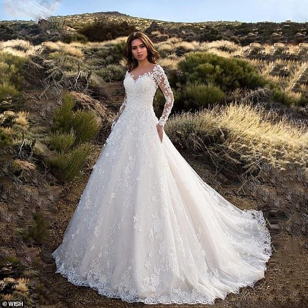 Đặt váy cưới online, cô gái nhận về ...