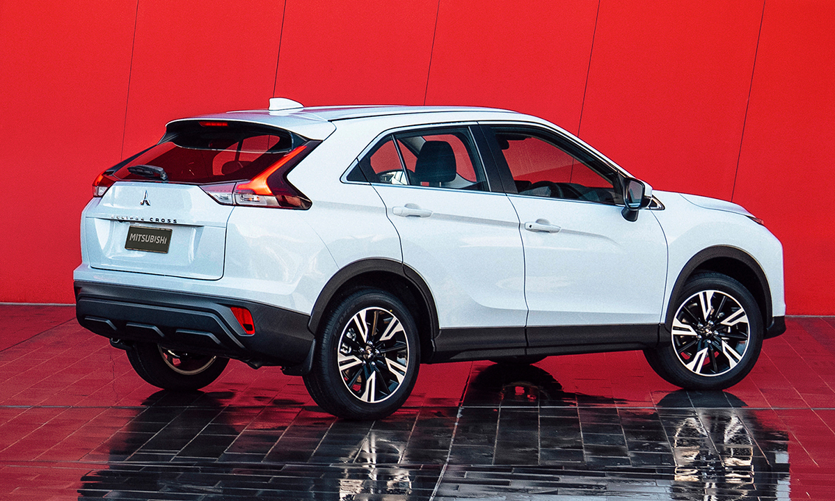 The redesigned Eclipse Cross focuses on the rear end.  Photo: Mitsubishi