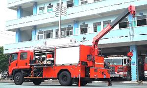 Xe cứu nạn, cứu hộ chứa 86 thiết bị
