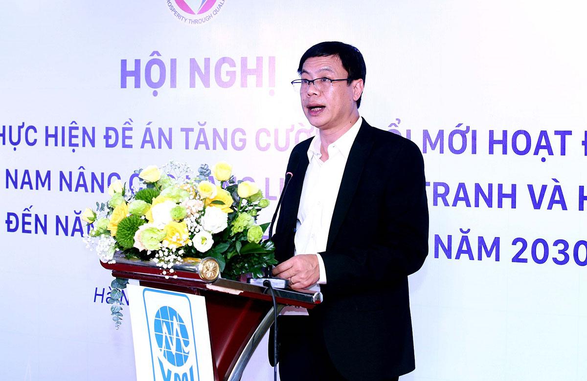 Thứ trưởng Lê Xuân Định phát biểu tại sự kiện. Ảnh: Ngũ Hiệp.