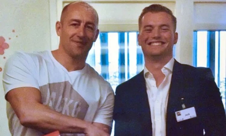 Steven Gallant (trái) và Jack Merritt, nạn nhân bị sát hại trong cuộc tấn công khủng bố gần cầu London hồi tháng 11 năm ngoái. Ảnh: PA.