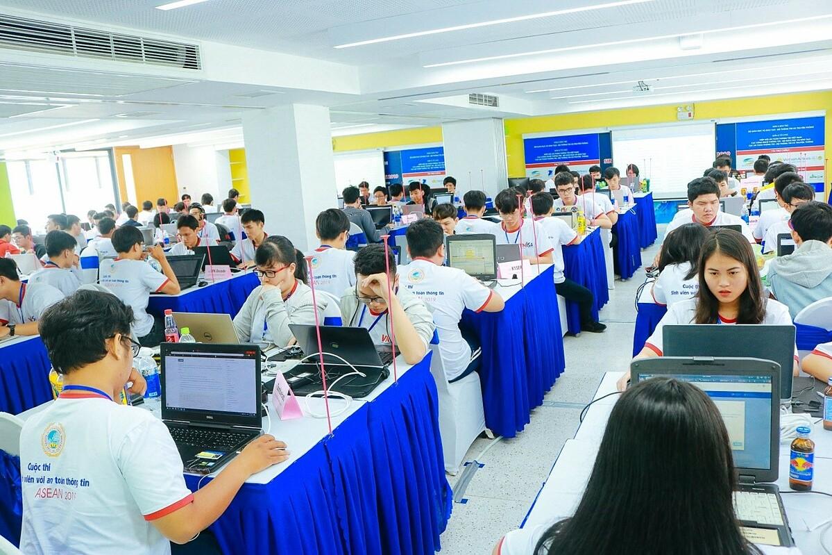 SIU có lợi thế về cơ sở vật chất để trở thành địa điểm thi vòng sơ khảo khu vực miền Nam cuộc thi Sinh viên với An toàn thông tin ASEAN năm 2020. Ảnh: SIU.