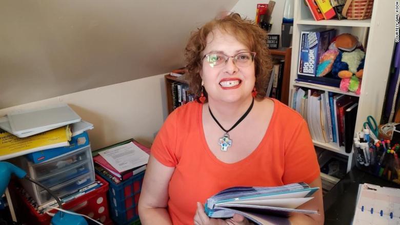 Julia Koch là giáo viên trường tiểu học Edgewood. Ảnh: Julia Koch.