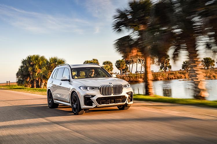 BMW X7 phiên bản thể thao M Sport. Ảnh: BMW USA.