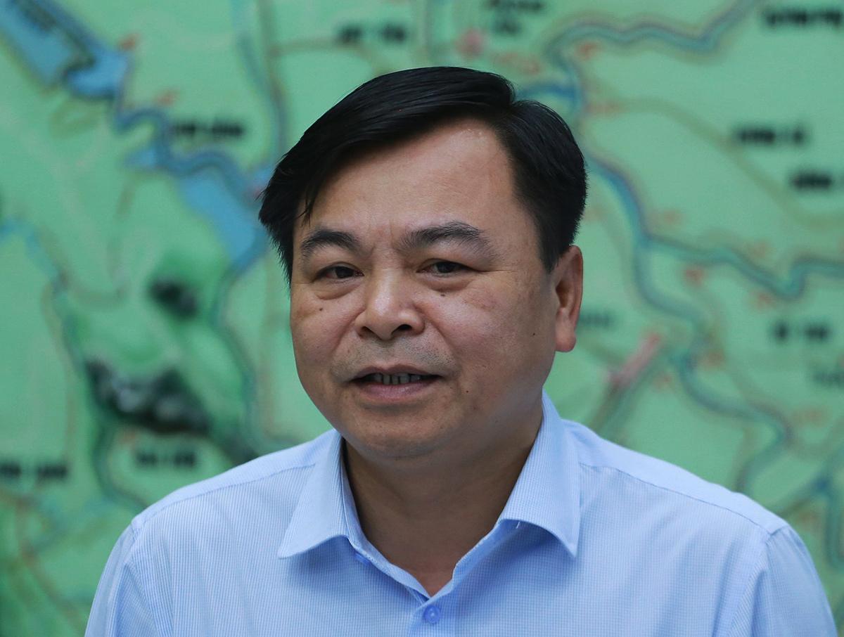 Ông Nguyễn Hoàng Hiệp, Thứ trưởng Bộ Nông nghiệp và Phát triển nông thôn. Ảnh: Nguyễn Tuệ.