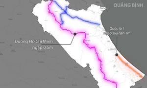 Giao thông miền Trung bị chia cắt