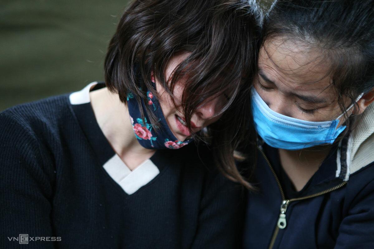 Ngày hôm nay, chị Thiều Thị Phương Nhung (bên trái) tròn 35 tuổi. Ảnh: Nguyễn Hải