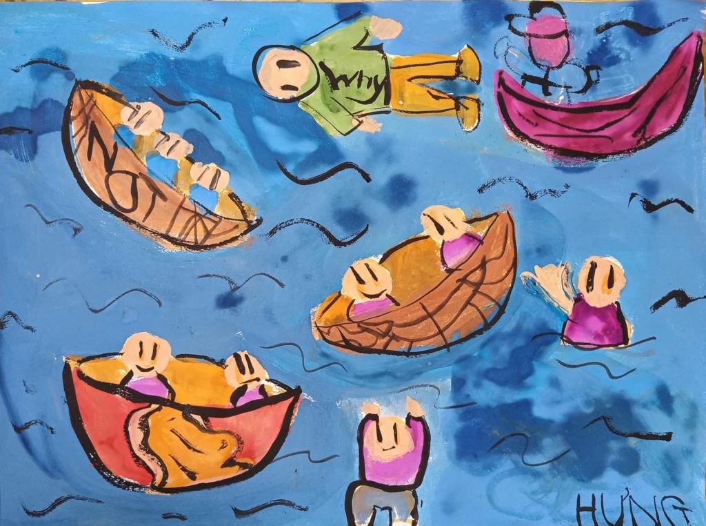 Những chiếc thuyền cho người miền Trung