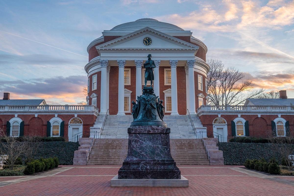 Một góc Đại học Virginia. Ảnh: University of Virginia.