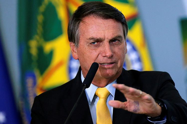 Tổng thống Jair Bolsonaro tại Brasilia ngày 19/10. Ảnh: Reuters.