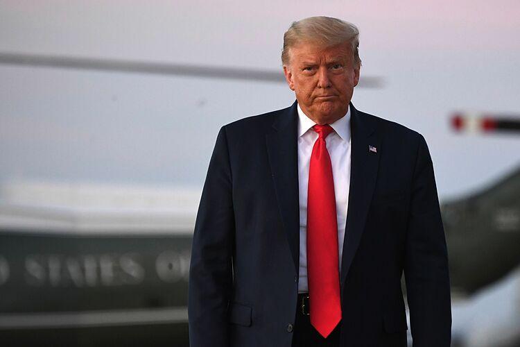 Tổng thống Trump tại Maryland ngày 20/10. Ảnh: AFP.