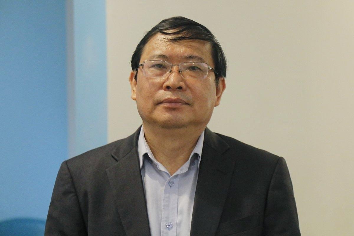 PGS TS Bùi Mạnh Hùng, Tổng chủ biên kiêm chủ biên sách Tiếng Việt 1, bộ Kết nối tri thức với cuộc sống. Ảnh: Thanh Hằng