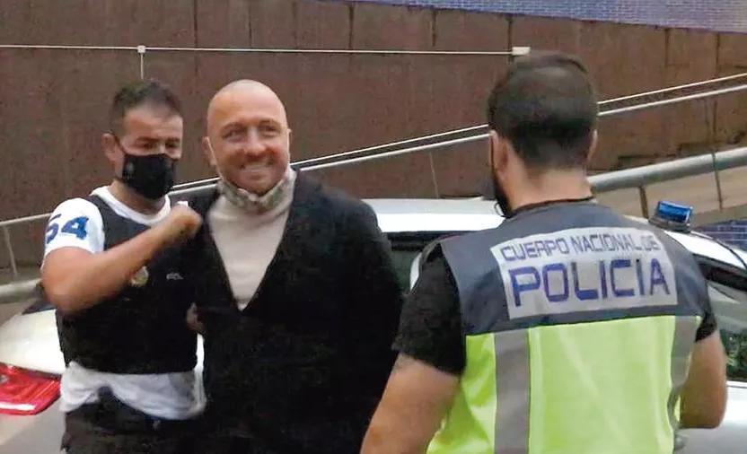 Vittorio Raso bị bắt giữ ngày 12/10 nhưng đã trốn sau khi được cho tại ngoại. Ảnh: El Pais.