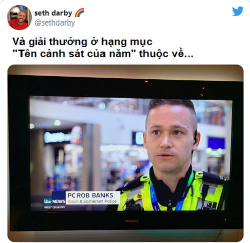 Cảnh sát tên Cướp Ngân Hàng