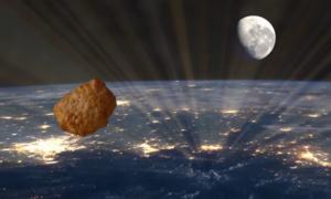 Miếng gà rán đầu tiên bay vào vũ trụ