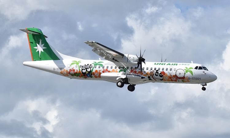 Một máy bay của hãng hàng không UNI Air, Đài Loan. Ảnh: Wiki.