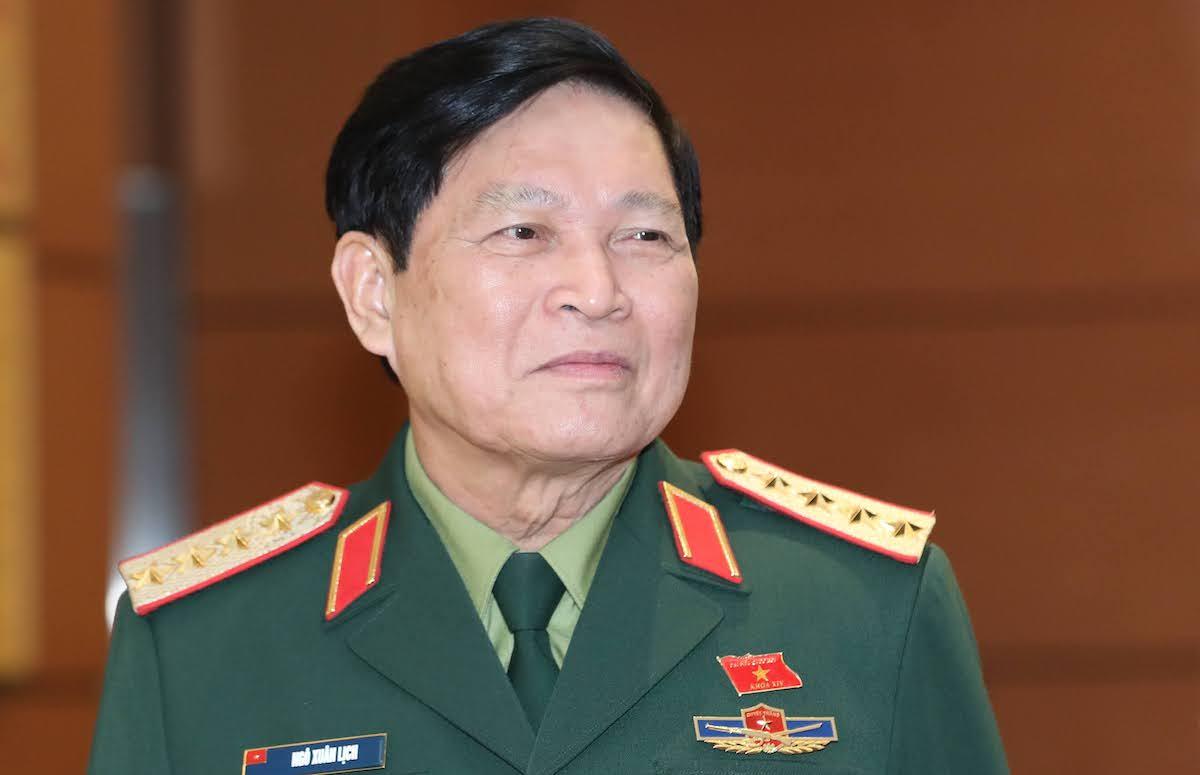Bộ trưởng Quốc phòng - Đại tướng Ngô Xuân Lịch. Ảnh: Hoàng Phong