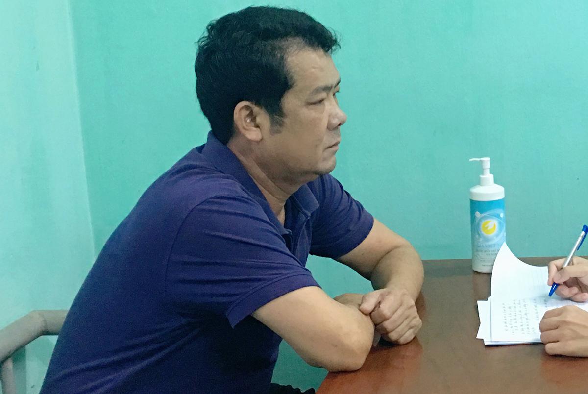 Ông Nguyễn Văn Sướng tại cơ quan điều tra. Ảnh: VKSND Bắc Ninh.