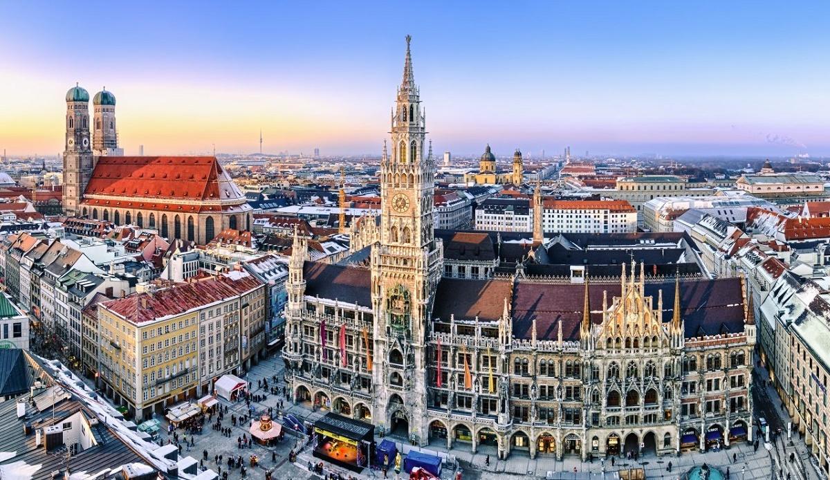 Một góc thành phố Munich, Đức. Ảnh: Studying in Germany