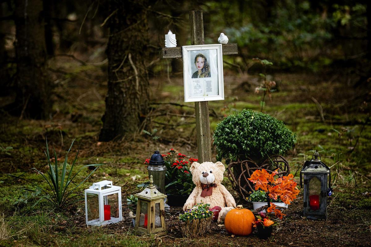 Nơi thi thể Nicole van den Hurk được tìm thấy. Ảnh: ANP.