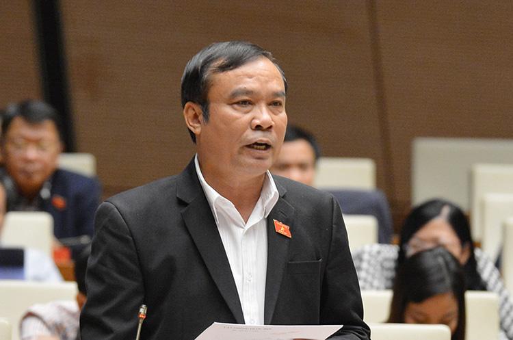 Đại biểu Nguyễn Bá Sơn. Ảnh: Trung tâm báo chí Quốc hội