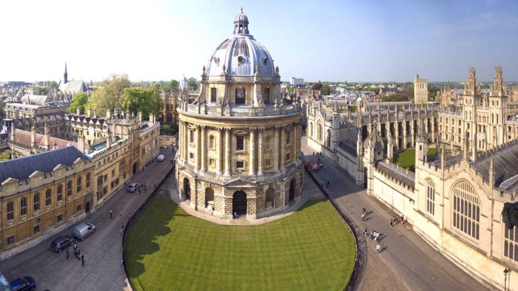 Một góc Đại học Oxford, Anh. Ảnh: BBC