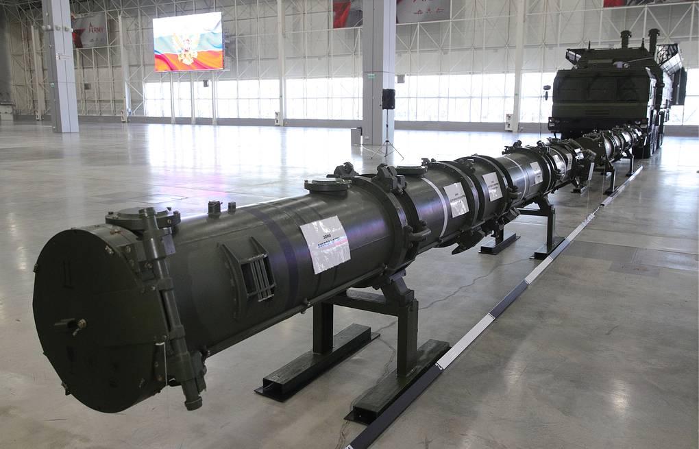 Hệ thống 9M729 được Nga giới thiệu đầu năm 2019. Ảnh: TASS.