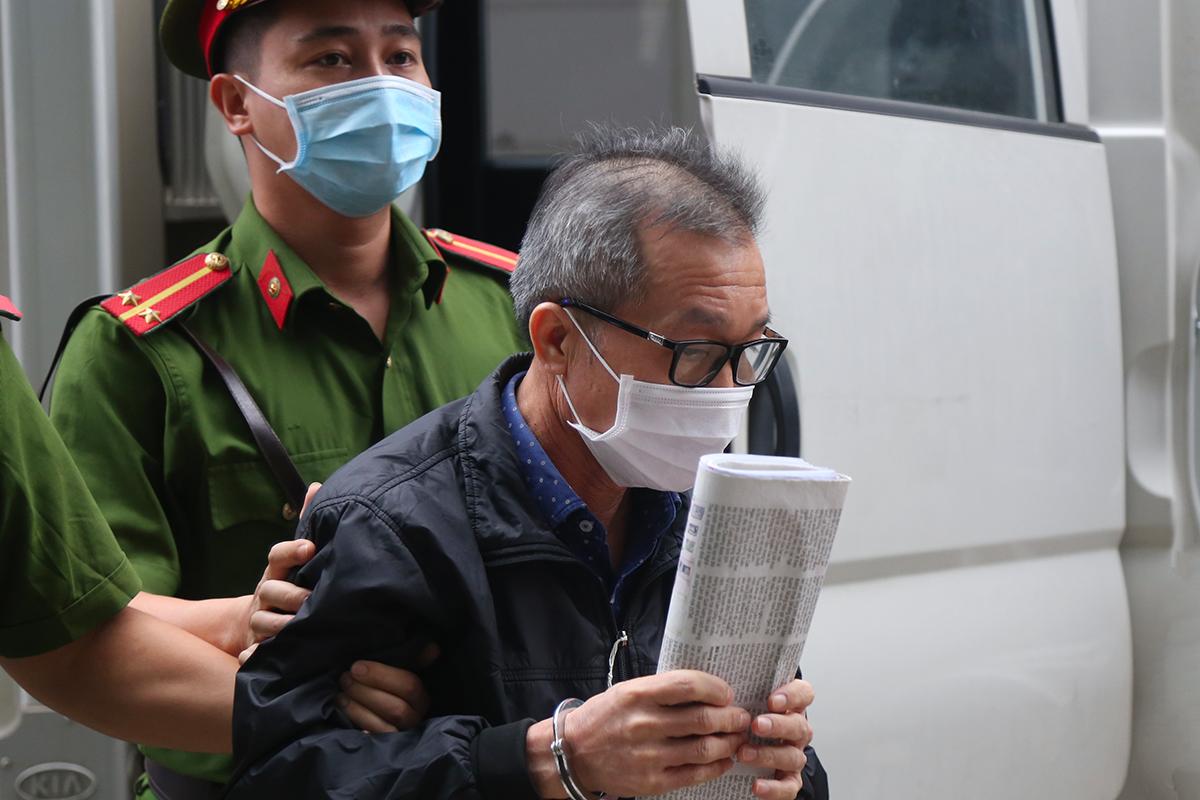 Bị cáo Trần Lục Lang. Ảnh: Phạm Dự