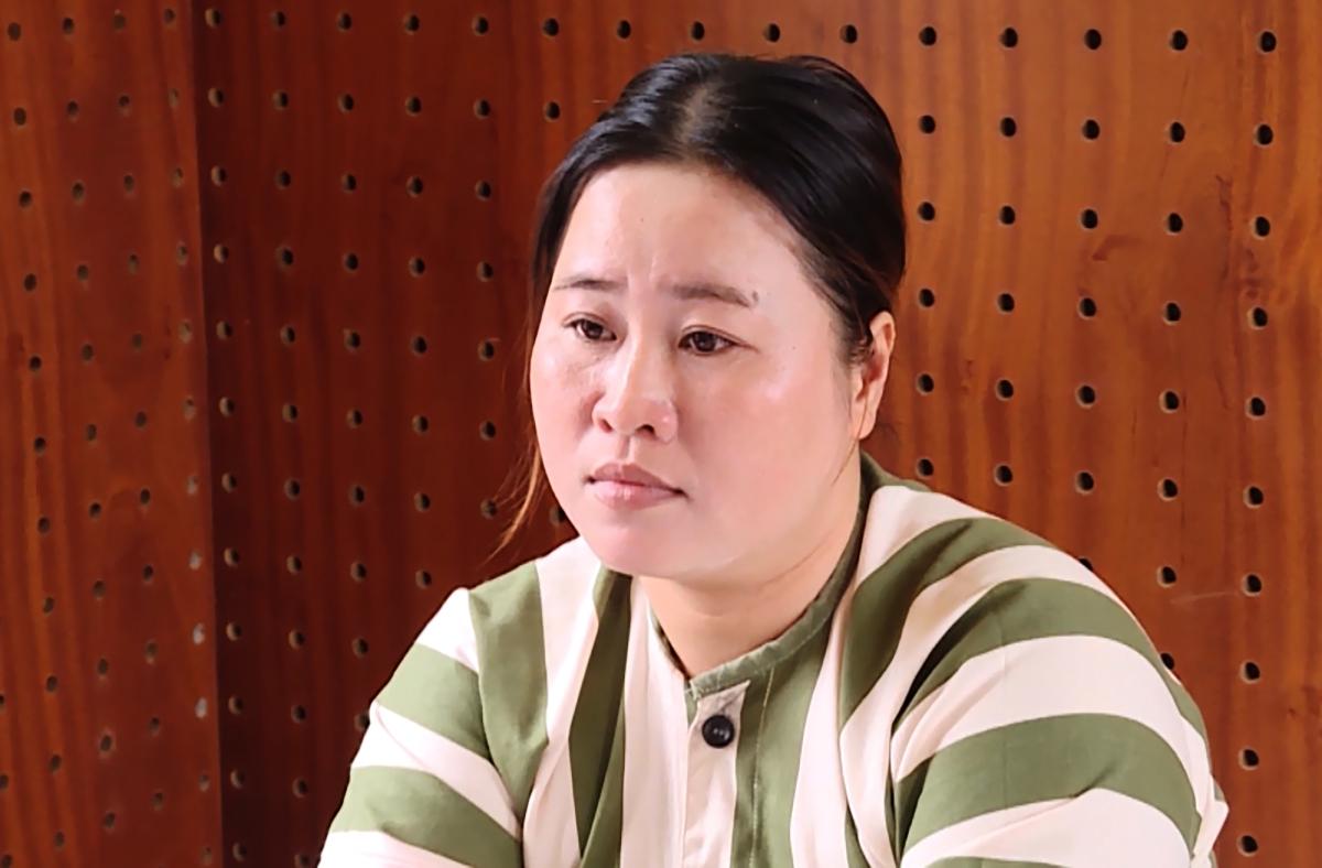 Đặng Ngọc Diện tại Công an tỉnh Bà Rịa - Vũng Tàu. Ảnh: Quang Bình.