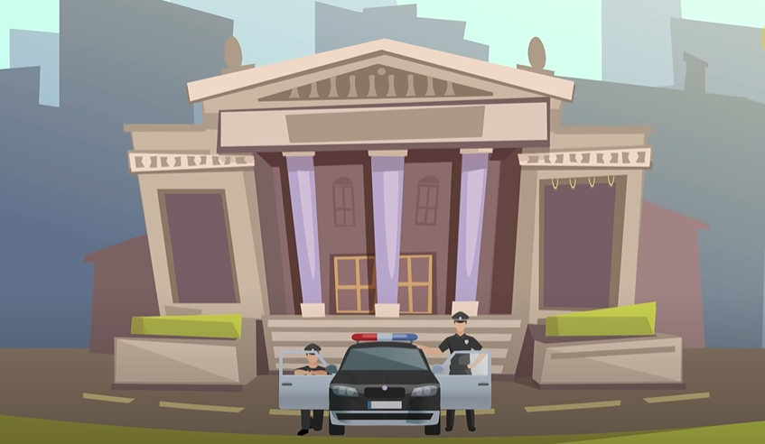 Cảnh sát đang truy tìm một người chuyên ăn cắp tác phẩm đắt tiền ở bảo tàng.