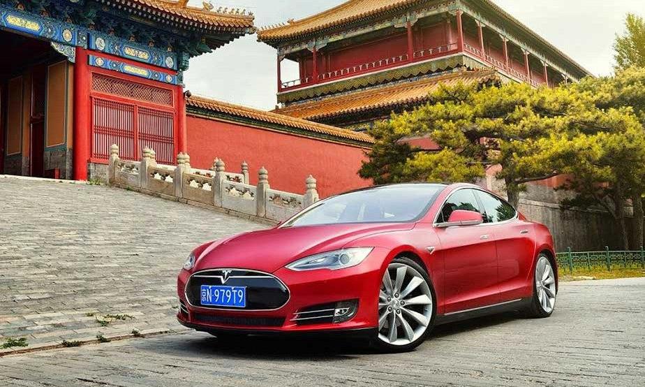 Một lượng xe Model S bán tại Trung Quốc được nhập khẩu từ Mỹ thuộc diện triệu hồi. Ảnh: Tesla
