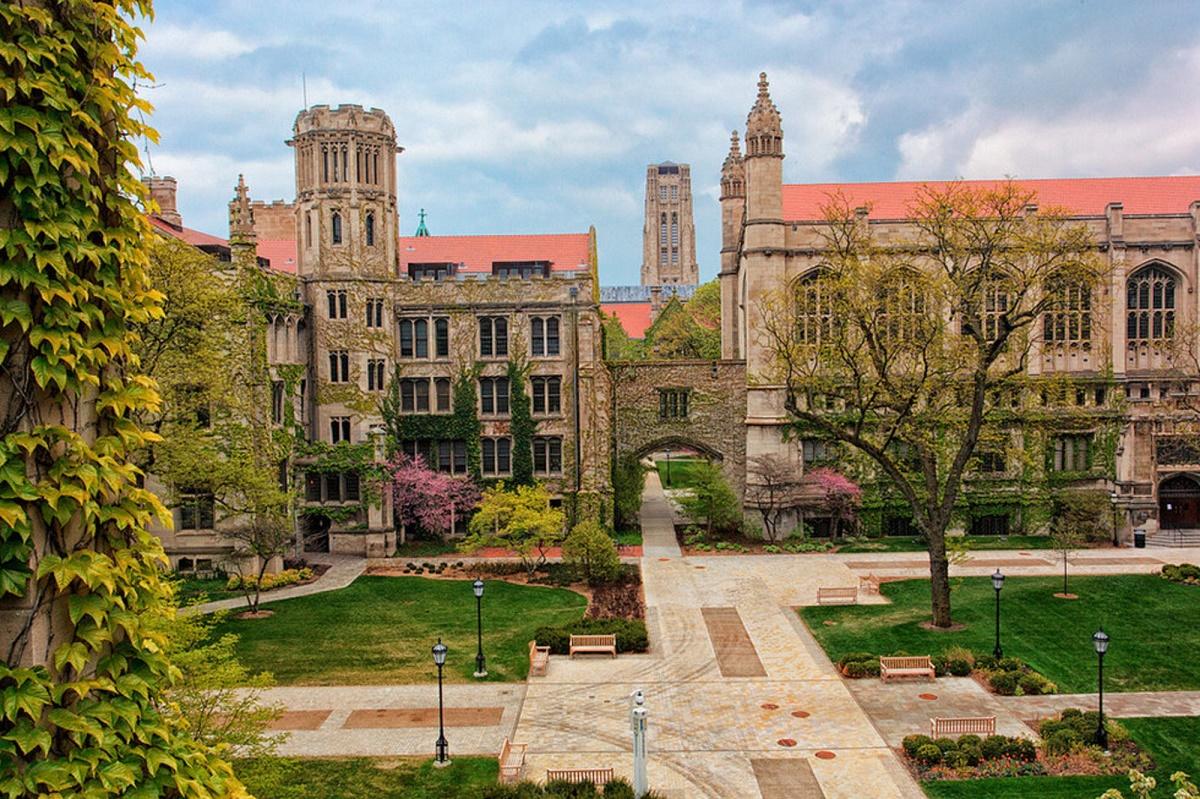 Một góc Đại học Chicago, Mỹ. Ảnh: About Smapse