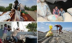 Những cách người dân đối phó bão Molave